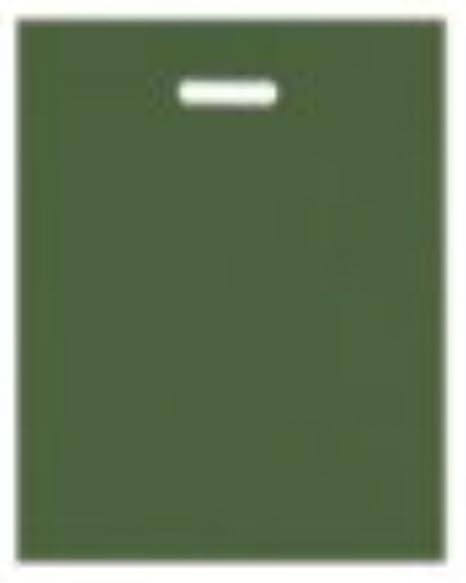 50 fuerte Harrods color verde troquelado mango plástico ...