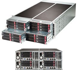 New Supermicro FatTwin SuperServer F628R3-RTB+ with full warranty