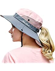 OZ SMART Wide Brim Sun Hat UPF 50 + UV Protection, Women Premium Multiple Styles Bucket Hat for Fishing, Hiking, Camping, Garden, Farming, Outdoor Exercise