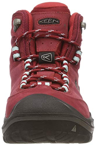 Waterproof 0 Rise Rojo de Wanderer Chili Senderismo Pepper para High Mujer Keen Mid Zapatos Gargoyle F5gfwx1