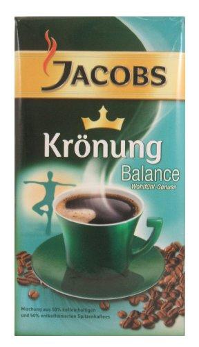 Jacobs Coffee Kronung Balance Ground Coffee,Net Wt 17.6 Oz  (Pack of - Balance Coffee
