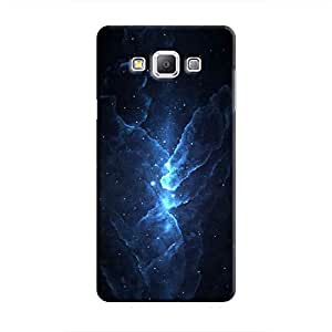 Cover It Up - Blue Stars Galaxy A3 Hard Case