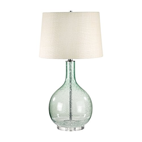Lamp Works 230G Seeded Glass Table Lamp, 28