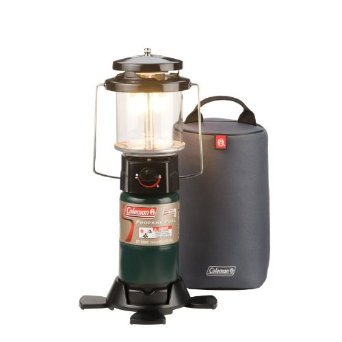 Coleman Deluxe PerfectFlow Propane Lantern with Soft Carry Case (Coleman Deluxe Lantern)