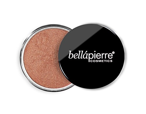 Bellapiarre Cosmetics Loose Mineral Shimmery Highlighter and Bronzer Kisses, 1er Pack (1 x 4 g)