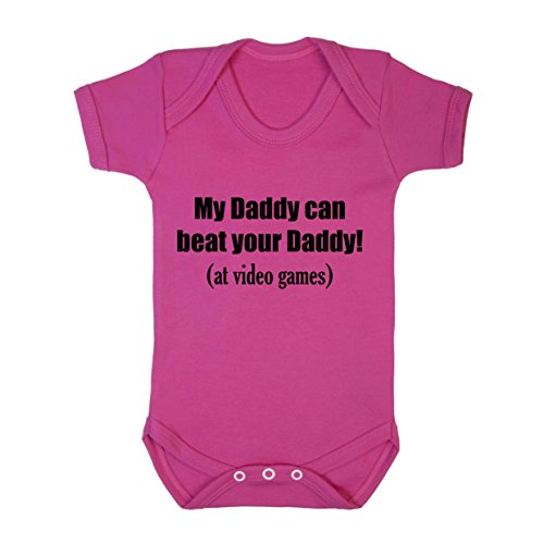 my-daddy-can-beat-your-daddy-at-video-games-cotton-baby-bodysuit-one-piece-hot-pink-newborn