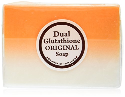 Price comparison product image 5 Bars Kojic Acid & Glutathione Dual Whitening/bleaching Soap