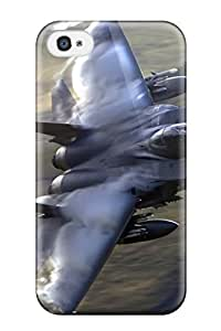 4/4s Scratch-proof Protection Case Cover For Iphone/ Hot F-15 Eagle Phone Case