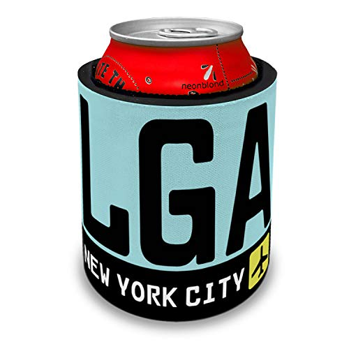 NEONBLOND Airport code LGA/New York City country: United States Slap Can Cooler Insulator Sleeve