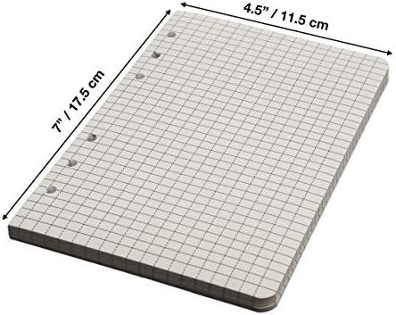 Limitless Equipment StormPaper: wetterfest, wasserfest, lose Blätter und Nachfüllpapier für TAMS Ordner und Notizblöcke. 200 Pages