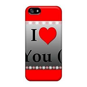 Hot I Love U First Grade Tpu Phone Case For Iphone 5/5s Case Cover