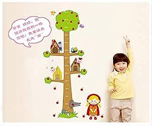 ملصقات حائط على شكل شجرة ملصقات كارتون للبنات