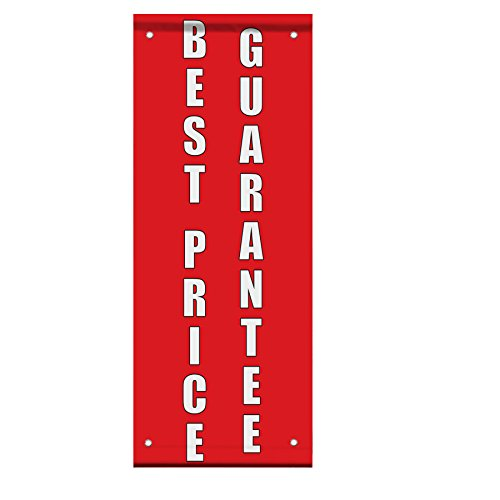 Best Price Guarantee Red Home Remodeling Double Sided Vertical Pole Banner Sign 30 in x 60 in w/ Wall Bracket by Fastasticdeals