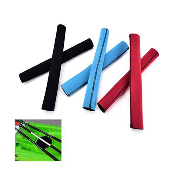 SparY Pagaia per Kayak Impugnature Cover, 2 Pz/Set Colorati Morbido Antiscivolo Remo Supporto - Neoprene Protezione… 4 spesavip