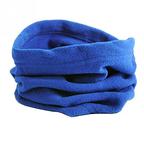 unisex invierno mujer Blue forro Deep cuello cálida para y hombre y máscara térmica marino bufanda Bufanda con Horrenz azul polar de RwqtnE