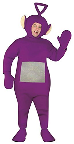 Faerynicethings Adult Size Teletubbies Costume - Tinky Winky