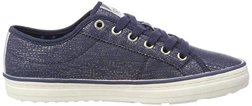 Oliver s Navy Azul Silver para 23640 Zapatillas Mujer U7pZ71n