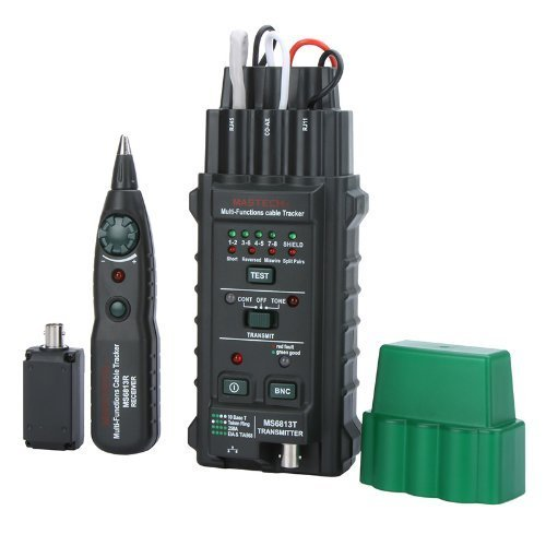 Price comparison product image MASTECH MS6813 Network Cable / Telephone Line Tester Detector Tracker BNC RJ45 RJ11