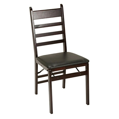 COSCO-WoodVinyl-Folding-Chair