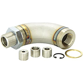 Vibrant 11619 J-Style Oxygen Sensor Restrictor Fitting with Adjustable Gas Flow Inserts