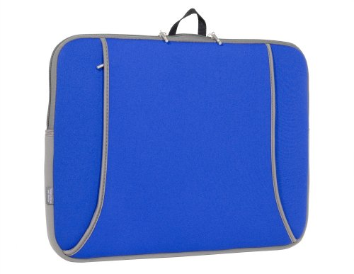 (Sumdex Digipod Neoprene Notebook Sleeve for up to 15.4-Inch Screen Size (Royal Blue))