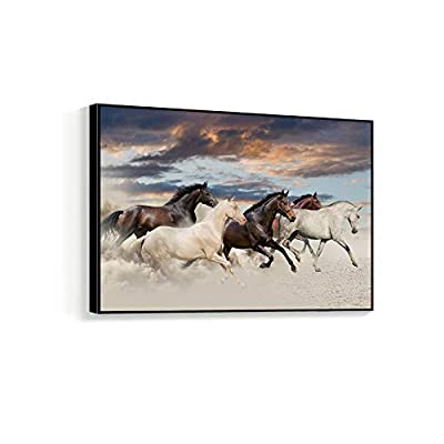 Framed for Living Room Bedroom Horse for, Created Just For You, Astonishing Artistry
