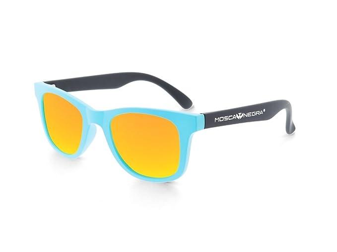 Gafas de sol para niño niña MOSCA NEGRA modelo MIAMI Orange - Polarizadas - Kid Sunglasses