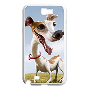 Cartoon dog Customized Cover Case with Hard Shell Protection for Samsung Galaxy Note 2 N7100 Case lxa#969790 by mcsharks
