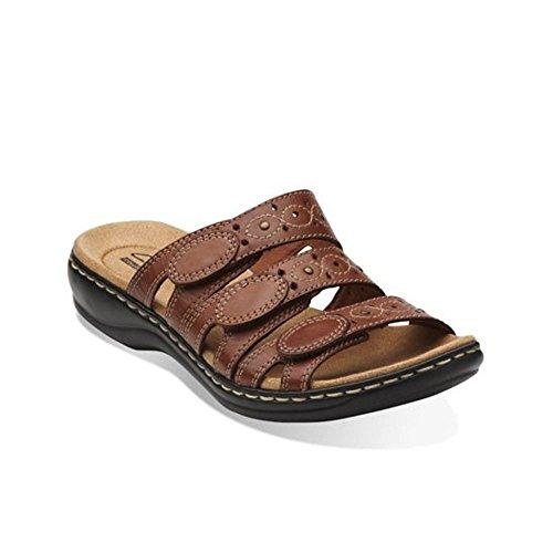 Clarks Femmes Leisa Cacti Slide Sandale Tan