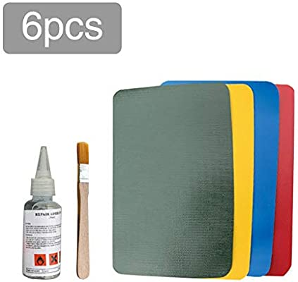 Goforwealth PVC Patching Adhesivo PVC Patch Repair Kit Piel ...