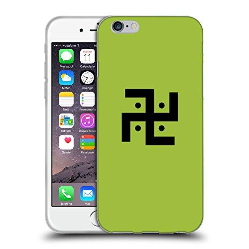 "GoGoMobile Coque de Protection TPU Silicone Case pour // Q08370603 Religion 1 Android vert // Apple iPhone 6 4.7"""