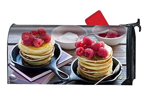 - MALBX Pancakes Raspberry Honey Magnetic Makeover Mailbox Cover Wrap
