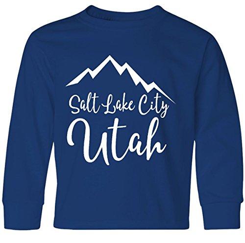 inktastic Salt Lake City Utah Youth Long Sleeve T-Shirt Youth Medium Royal - Place Slc Fashion
