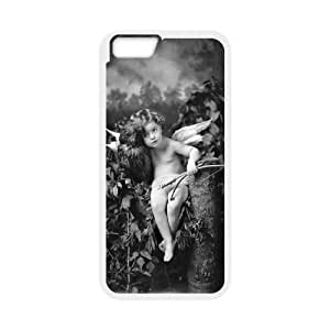 LIULAOSHI Cupid Phone Case for iphone6 Plus White [Pattern-4] by mcsharks