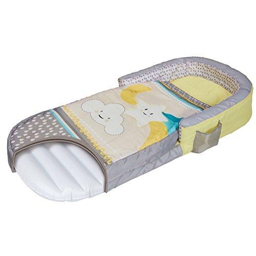Lettino Gonfiabile Neonato.Ready Bed 401clo Letto Gonfiabile E Sacco A Pelo Per Bambini 2 In 1 Grey 130 X 61 X 23 Cm