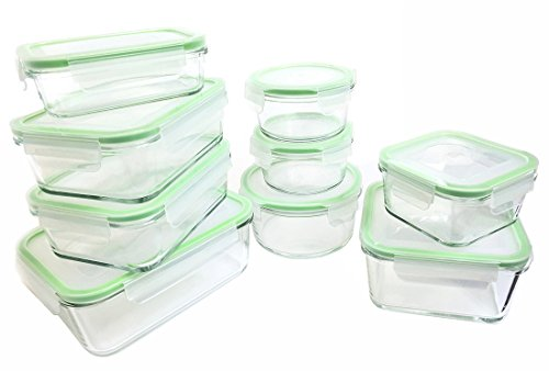 Kinetic Glass Food Storage