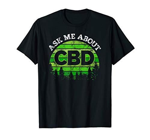 I sell CBD Shirts - Hemp Heals CBD Oil T-Shirt