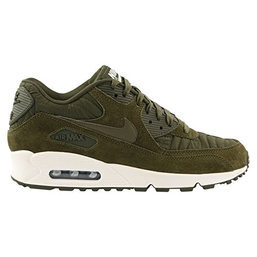 pretty nice 787b3 bbc81 Galleon - Nike Women s Air Max 90 Prem Dark Loden Dark Loden Ivory Running  Shoe 9 Women US