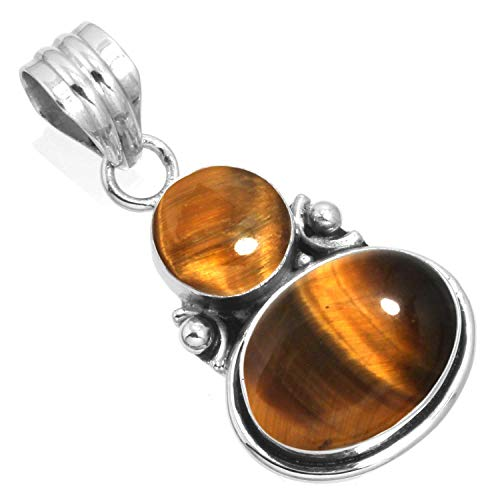 Silver Tiger Eye Necklace - 2