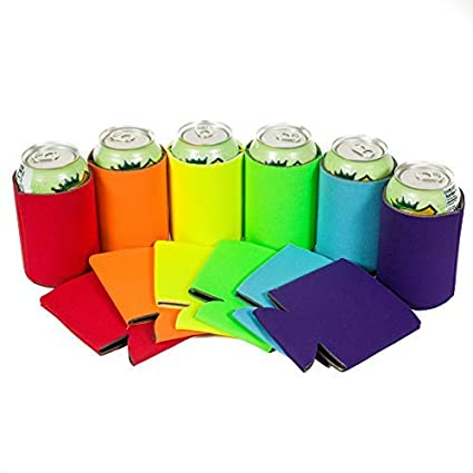 004adcd96a Amazon.com  QualityPerfection 12 Multi Beer Blank Can Coolers ...