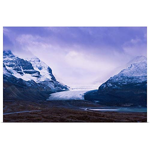 GREATBIGCANVAS Poster Print Entitled Athabasca Glacier, Columbia Icefields, Alberta, Canada by Yves Marcoux 18