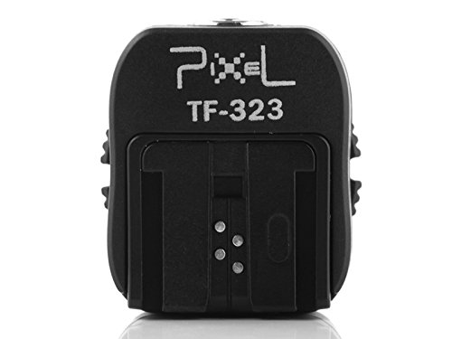 Pixel TF 323 Flash Hot Shoe to Pc Adapter Flashguns for Sony ETTL DSLR Camera and Flashguns hotshoe adapter