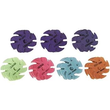 jooltool. jooltool 3m cubitron ceramic purple \u0026 trizact: 21 piece deluxe abrasive disc kit, 3 jooltool
