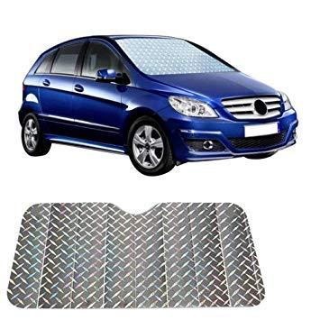 Uniqus Sun Shade Hatchback Car Windshield Visor Cover Block Front Window Sunshade UV Predect, Size  130  60cm
