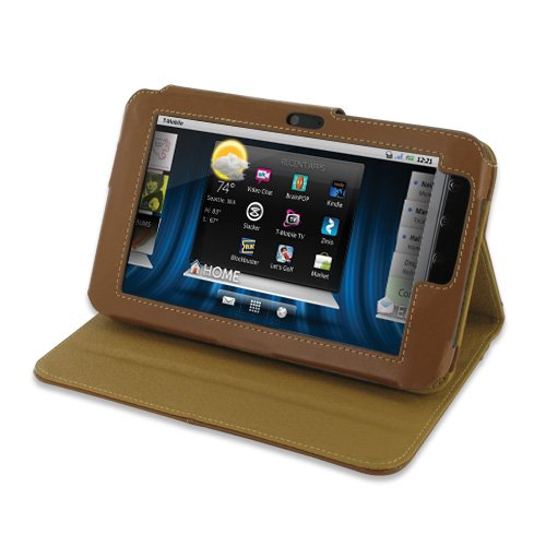 Click to buy PDair BX1 Brown Leather Case for Dell Streak 7 - From only $84.99