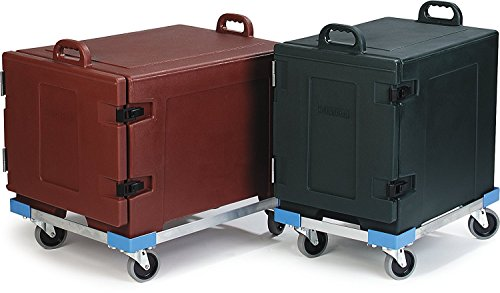 Carlisle Cateraide PC300N End-Loading Food Pan Carrier Dolly, Aluminum 3
