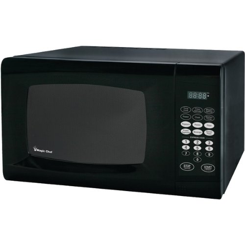 Magic Chef Mcm990B 0.9 Cubic Feet 900-Watt Microwave with Digital Touch
