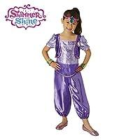 DISBACANAL Disfraz Shimmer de Shimmer and Shine niña - Único, 3-4 años