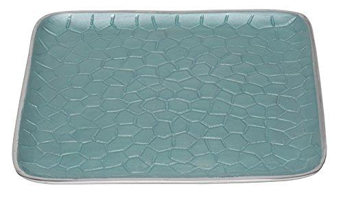 Tray Square Classic (Artisan d'Orient Classic Square Tray, Color - Aqua)