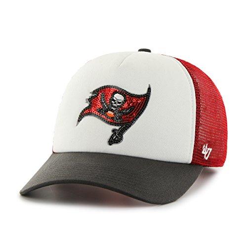 - '47 NFL Tampa Bay Buccaneers Women's Glimmer Captain CF Strap Hat, Women's, Red